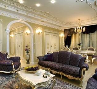 Дизайн квартиры в стиле барокко