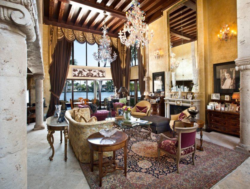 Дизайн квартиры в венецианском стиле в Крыму