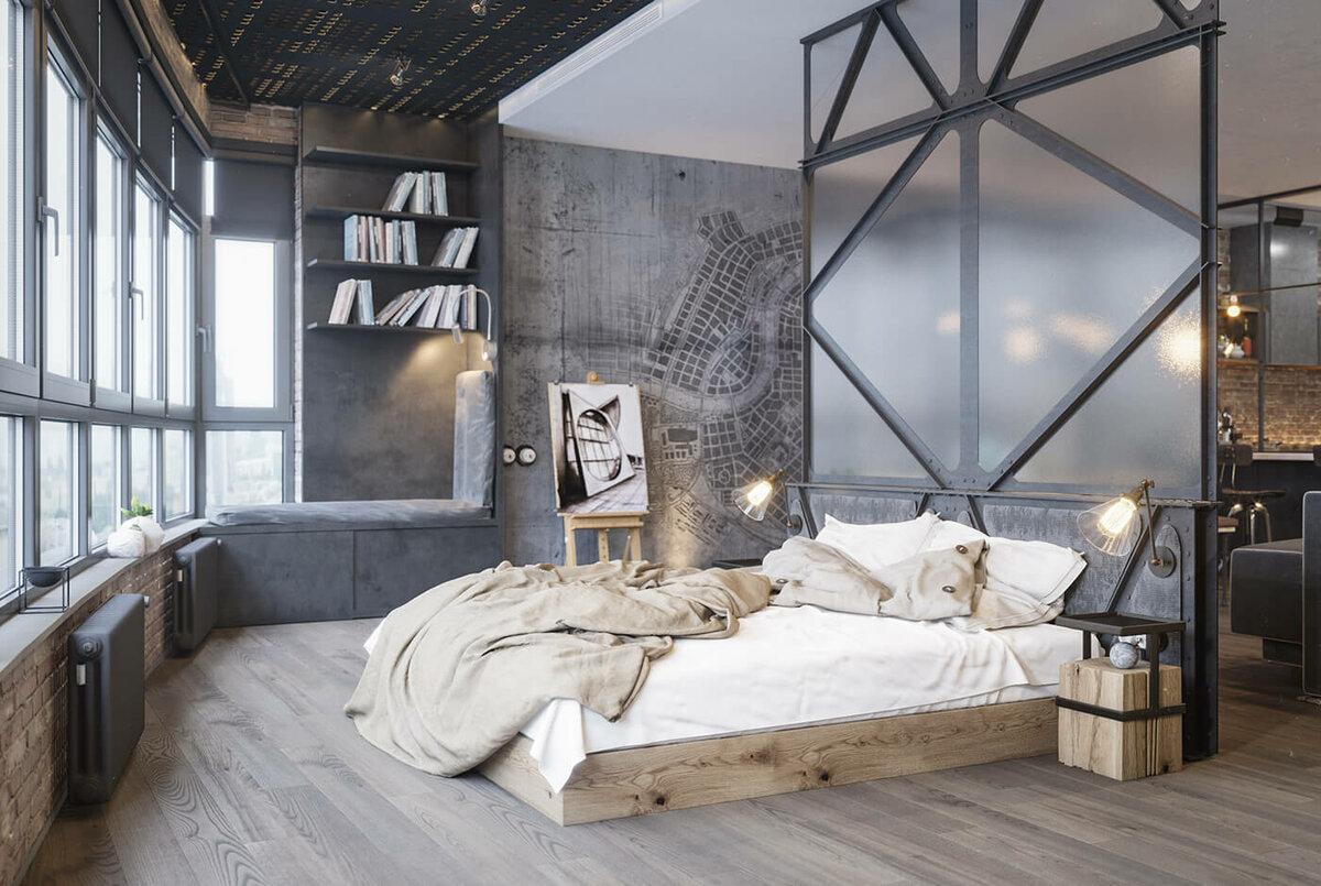 Квартира в индустриальном стиле: особенности дизайна и декора