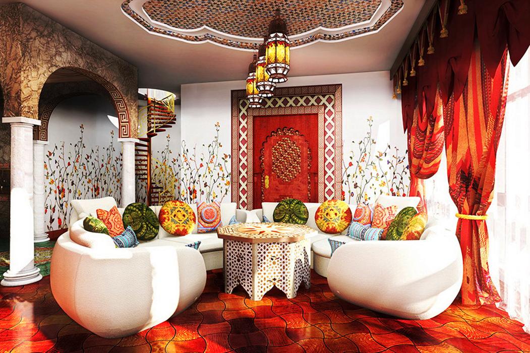 Квартира в арабском стиле