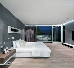 Квартира в стиле хай тек