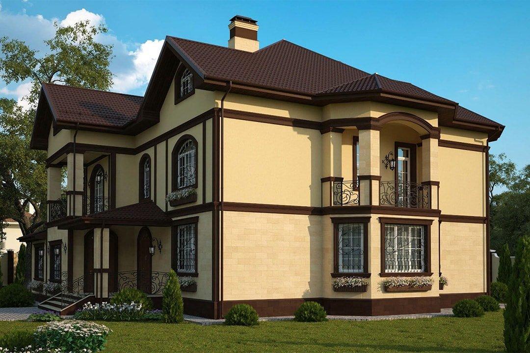 люси образованию подбор внешней отделки дома по фото проекте домов г-образной