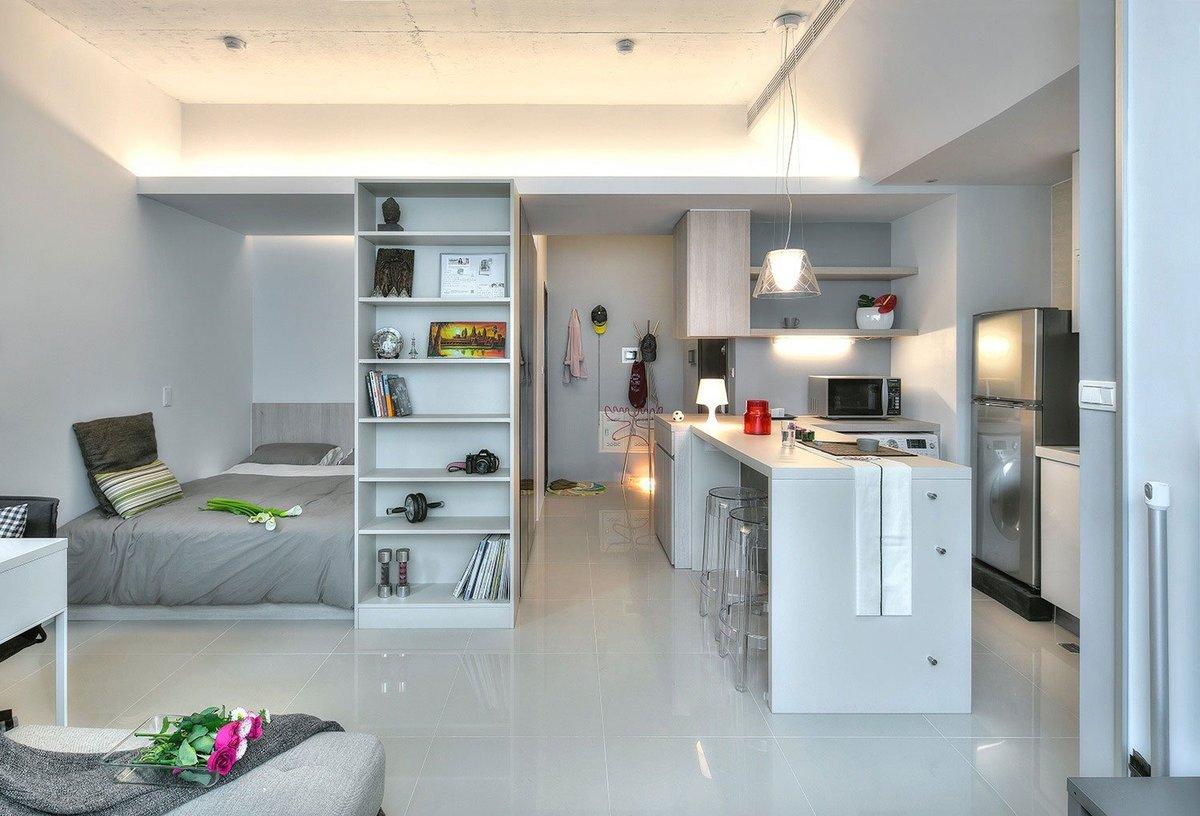 Дизайн для квартиры студии фото